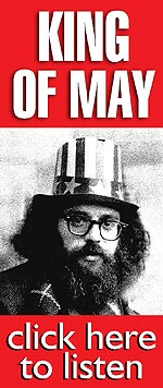 "In 1965, after being elected ""King of May"" by Prague's citizens, the then Czech Communist Régime deported Allen Ginsberg from the country. Allen wrote this rant while on the plane to London. Click Here and listen to ""King of May""!"