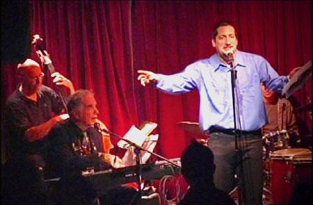 "Click Here to View a SNY VidClip of Frank Messina ""The Met Poet""  Live at The Cornelia Street Cafe' with David Amram and the Trio!"