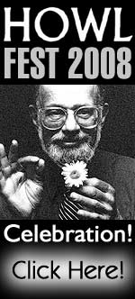 Pix, Clips and Page from kindred Keepers of The Flame! Join us in celebrating the LifeArtSpirit of Allen Ginsberg! Click Here to Enter!