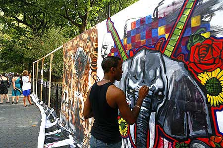 Click Here To View Jeremy Hogan's Photos from Tompkins Square Park during HowlFest 2007!
