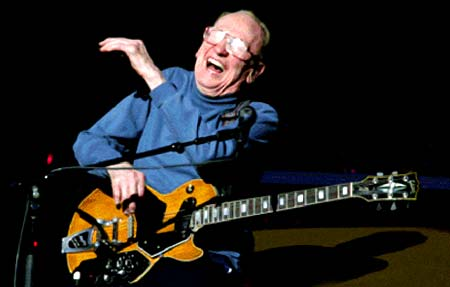 Doing What He Loved . . . Loving What He Was Doing! - Click Here For Great Video of Les Paul at VideoSurf!