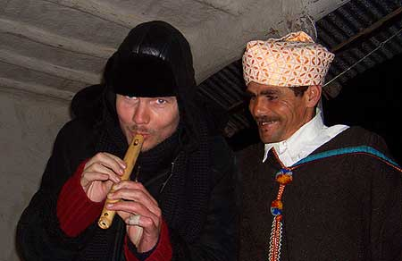BillyCorgan of Smashing Pumpkins in Joujouka, 2006.