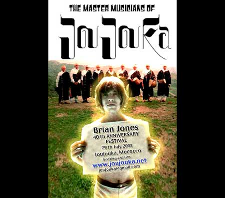 The Master Musicians of Joujouka -  The Brian Jones 40thAnniversary Festival - Click Here To Learn More About The Master Musicians of Joujouka!