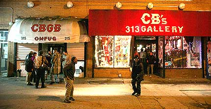 Click Here to Learn More about CBGB's!