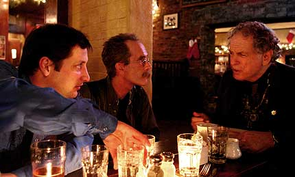 Frank Messina, James Walck and David Amram