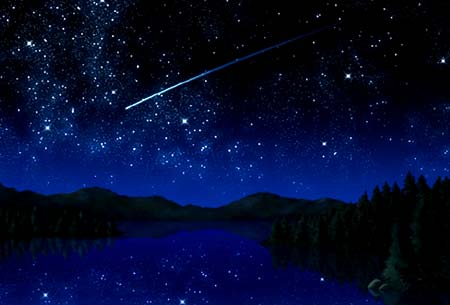 The annual Perseid Meteor Showers will reach their peak on Tuesday night when the Earth plunges deeper into Comet Swift-Tuttle's debris stream.  - Click Here and Visit Meteor Showers On-Line to Learn More About The Perseids!