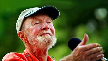 Forever Young - On May 3rd, Singer, Songwriter and tireless Activist, Pete Seeger turns 90 years young. - Happy Birthday Pete!