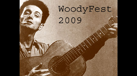 The 12th Annual Woody Guthrie Festival - WoodyFest, commemorating the life and music of Woody Guthrie will be held on July 7-12 in Woody's hometown of Okemah, Oklahoma. Click Here To Learn More About WoodyFest!