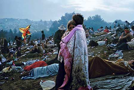 This August 15th marks the 40th anniversary of the Woodstock Music and Art Fair and the Burk Uzzle photo of the blanket-wrapped couple epitomized the humanity of the moment. In celebration of Woodstock's 40th anniversary, the Laurence Miller Gallery in NYC is presenting Uzzle's photography from Woodstock through August 20th. - Click Here To See and Learn More About the Burk Uzzle exposition at the Laurence Miller Gallery.